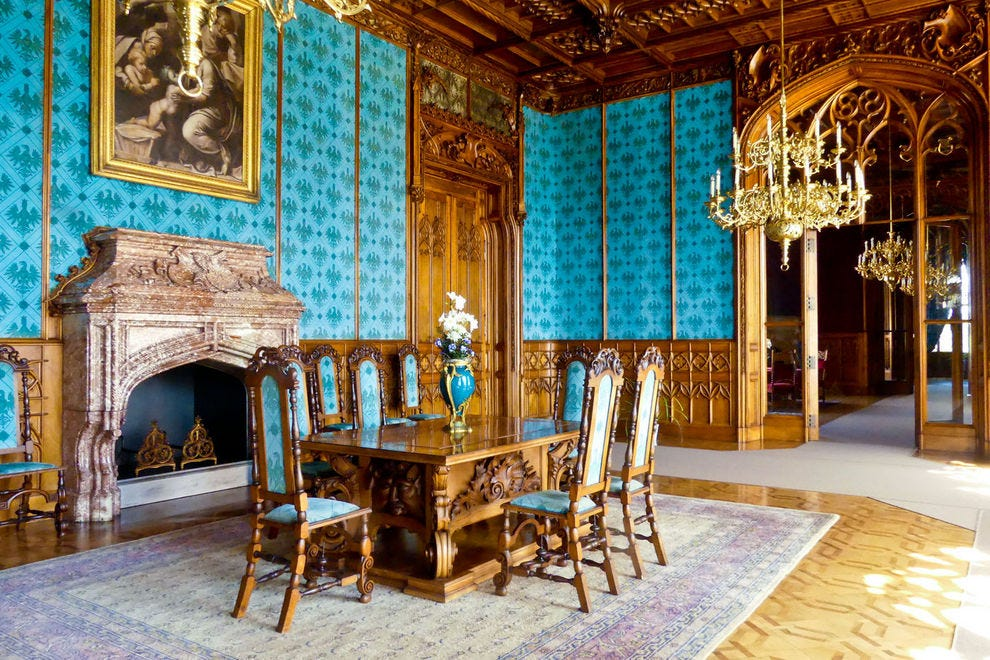 The Turquoise Hall, Chateau Lednice