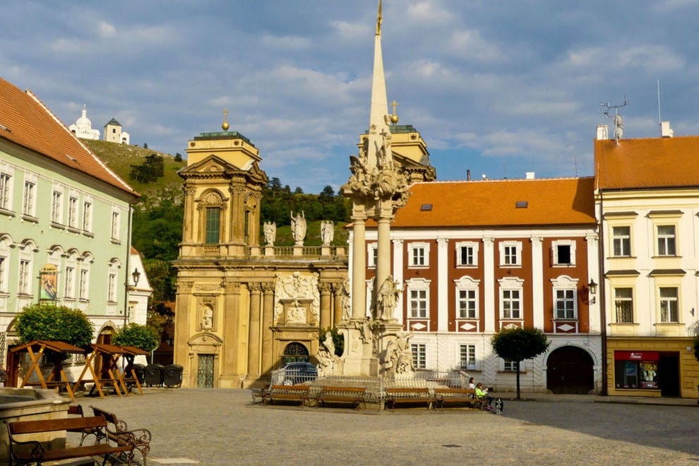 Mikulov has much to charm visitors