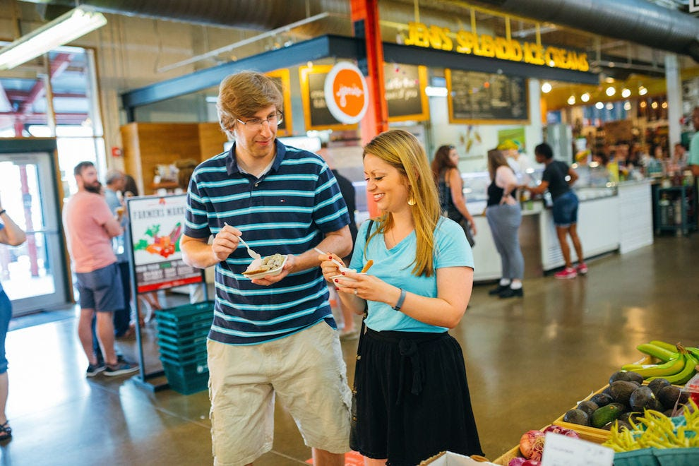 North Market is the perfect place to get an authentic taste of Columbus