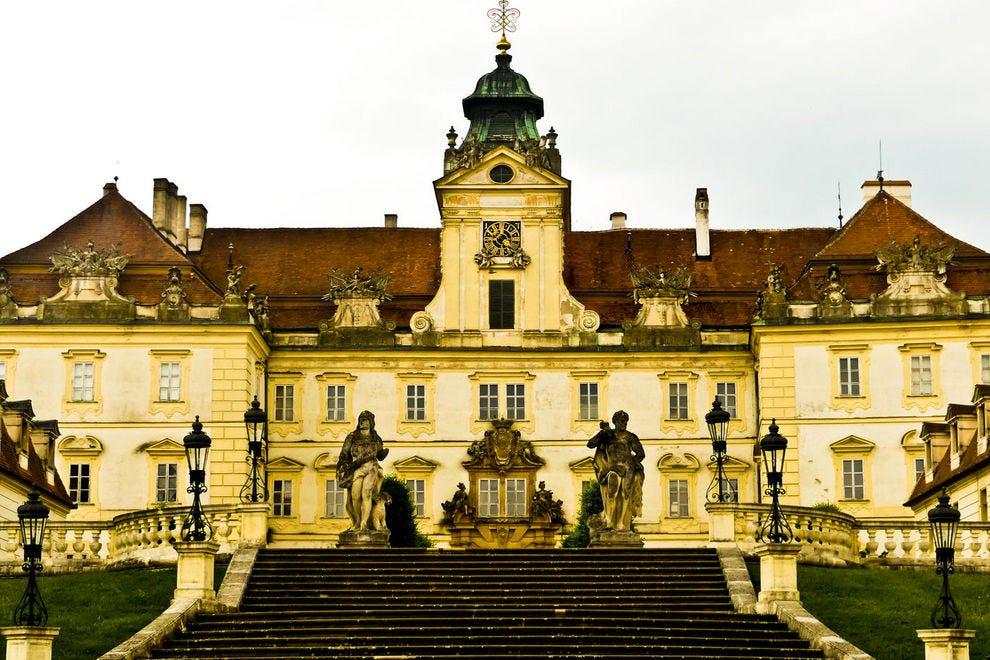 Chateau Valtice, epicenter of South Moravian wine