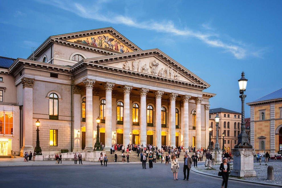The National Theatre Munich is home to the Bavarian State Opera