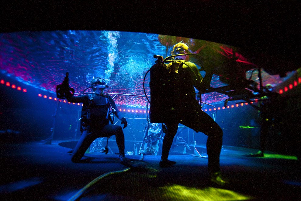 This is what it's like to dive during Le Reve - The Dream