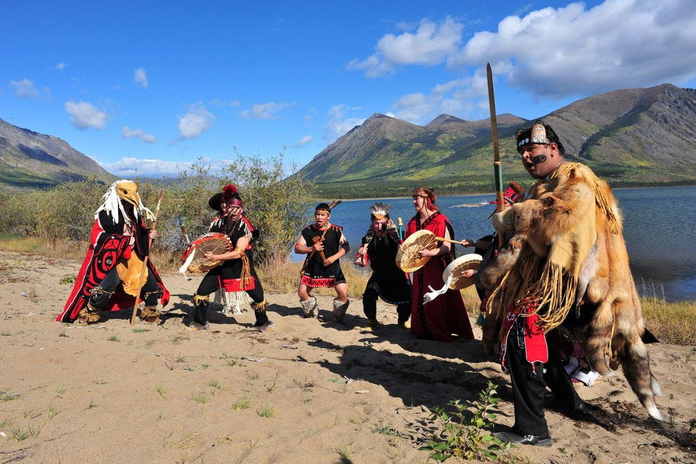 Dakka' Kwa'an Dancers bring beauty and tradition to Carcross