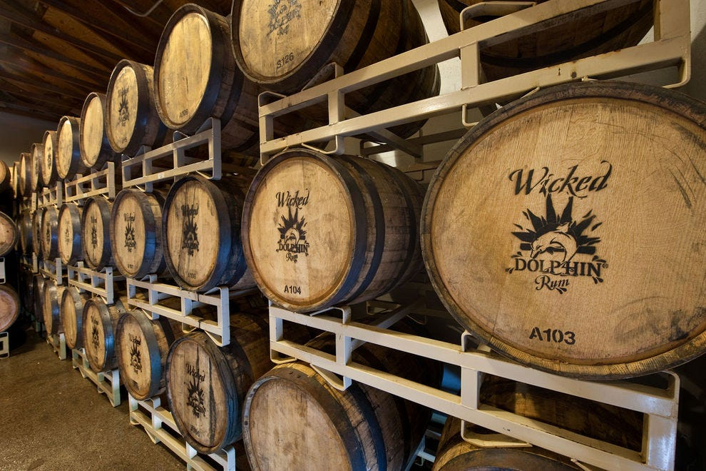 Florida distillery has won three years in a row