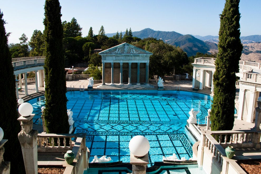 Neptune Pool at Hearst Castle