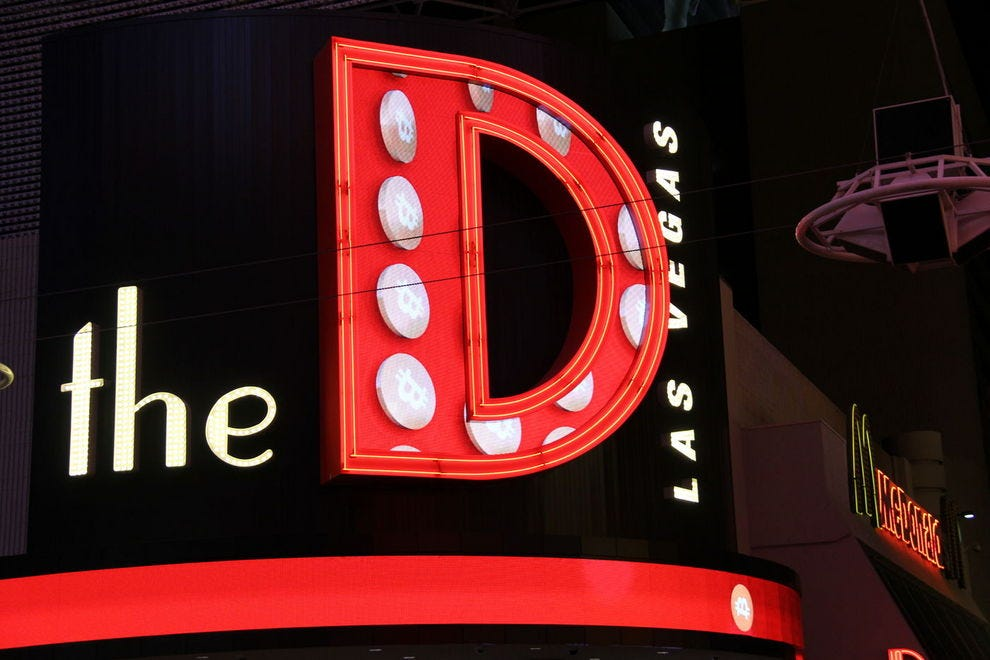 The D is situated in Downtown Las Vegas