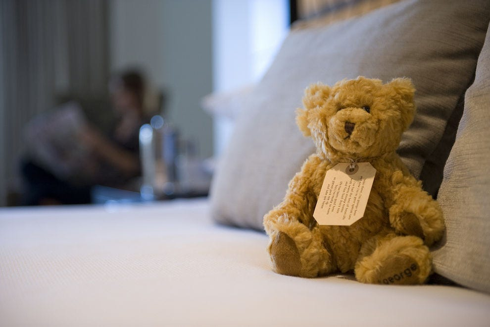 The George gives every guest a teddy bear