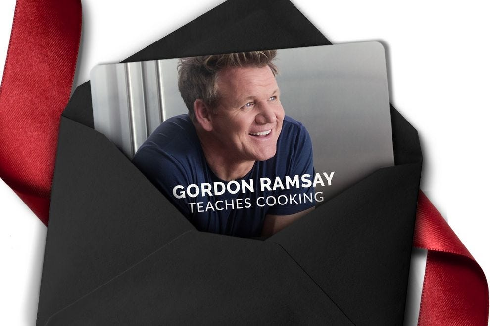 MasterClass: Gordon Ramsay Teaches Cooking