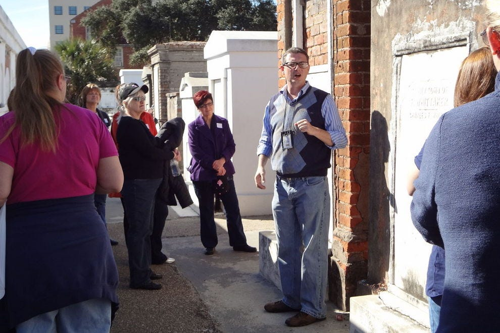 French Quarter Phantoms offers a variety of spooky (and historic) tours