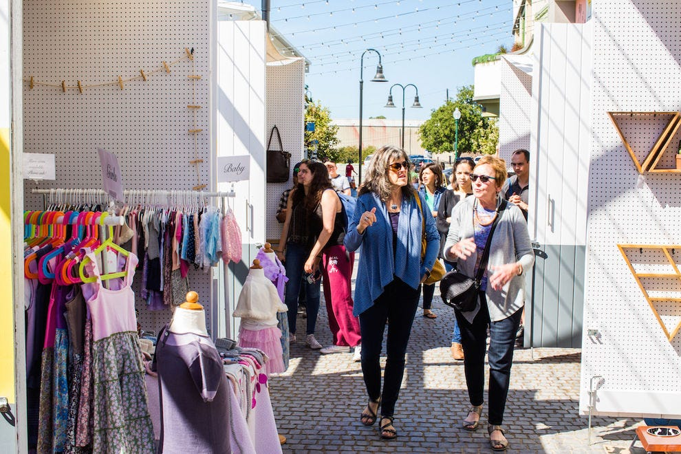 Shop directly from local designers at Maker's Row