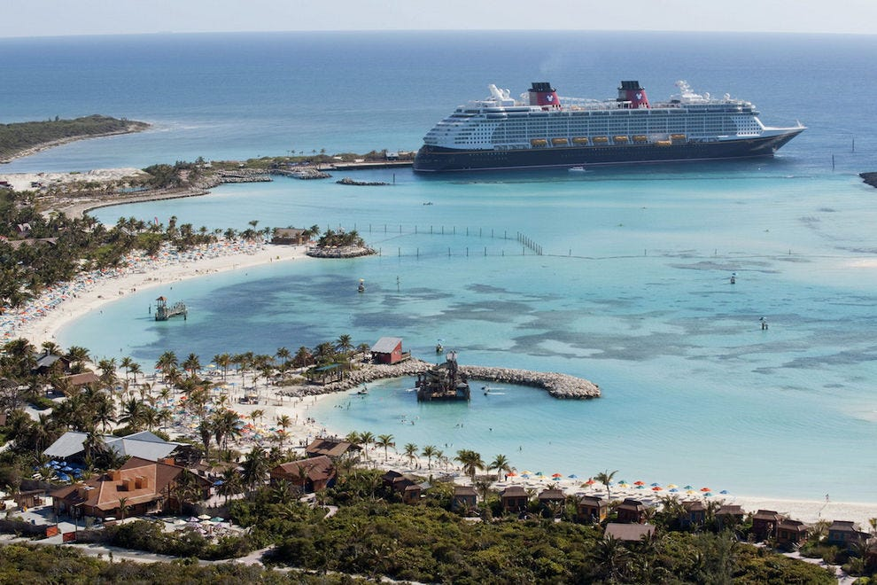 Castaway Cay is a private 1000-acre island exclusively for Disney Cruise Line guests