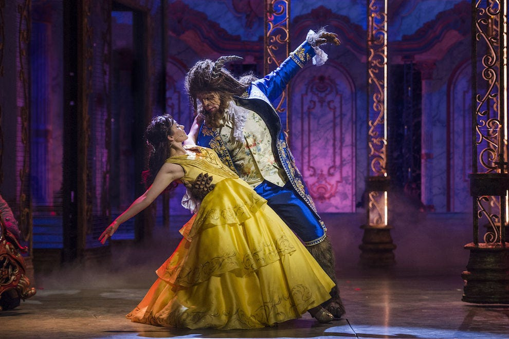 Disney's onboard production of <i>Beauty and the Beast</i> rivals Broadway&#8221;><span class=