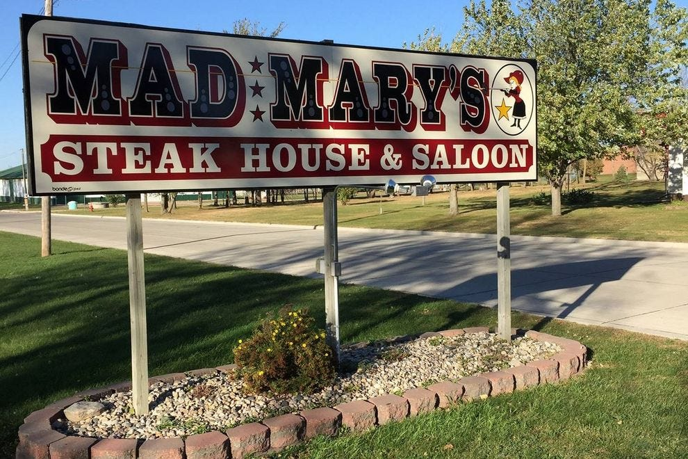 Mad Mary's Steakhouse in Flandreau
