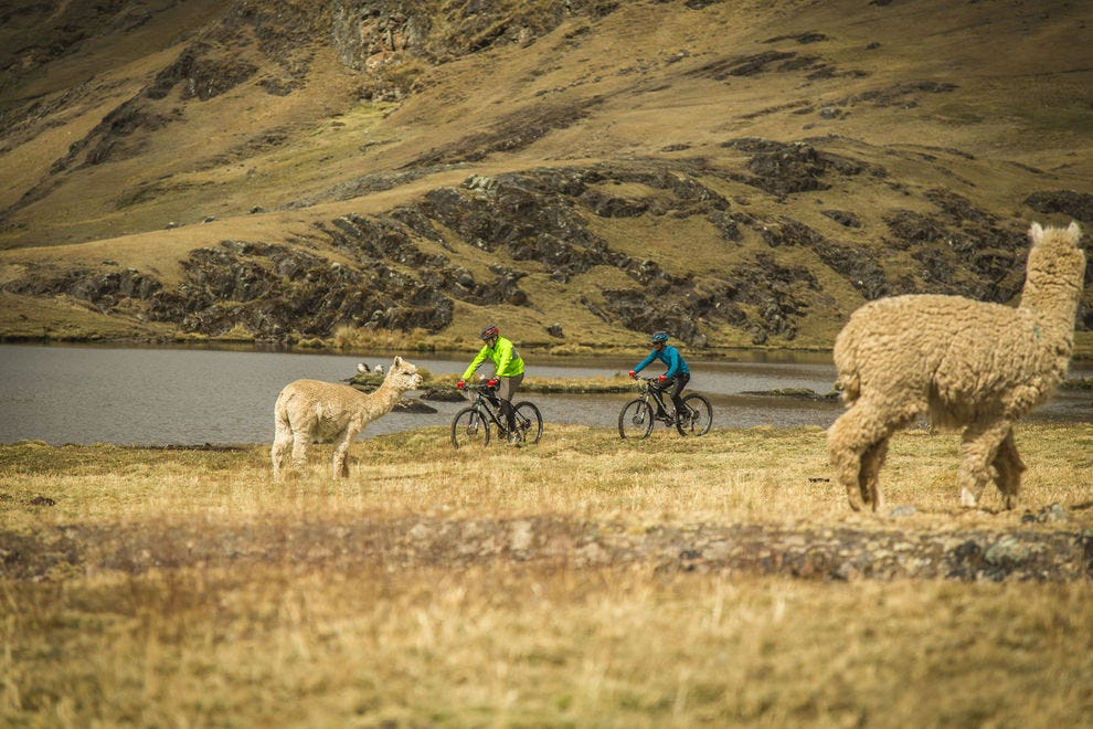 Biking exploration in Peru's Sacred Valley