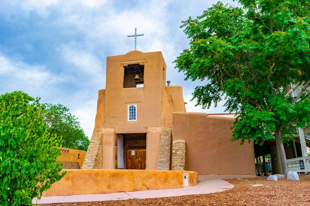 This Santa Fe church claims to be the nation's oldest