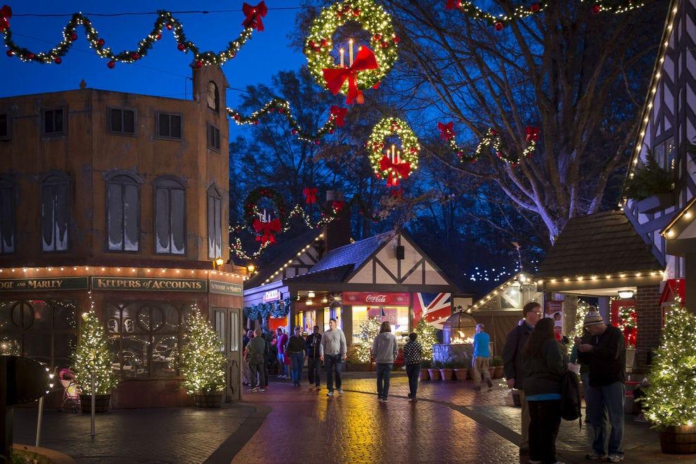 Vote - Christmas Town at Busch Gardens Williamsburg - Best Theme ...