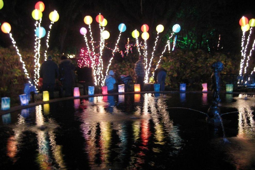 Best Botanical Garden Holiday Lights Winners 2018 Usa Today 10best