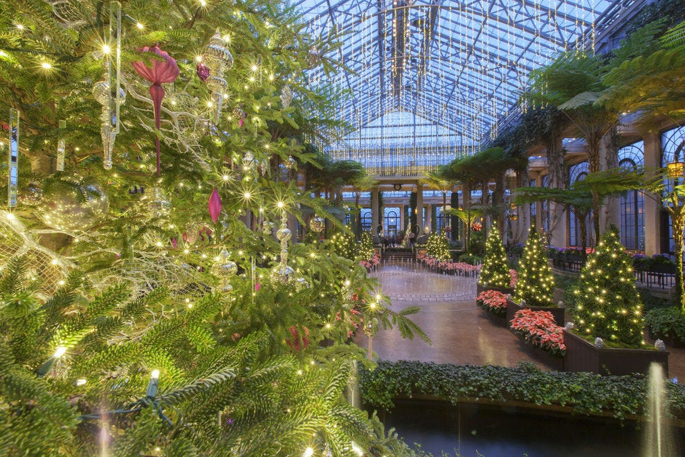 Longwood Gardens Christmas 2019.Best Botanical Garden Holiday Lights Winners 2018 10best