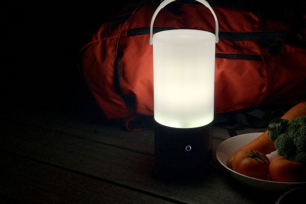 LUMO MSL200 Smart Lantern can last as long as 30 nights