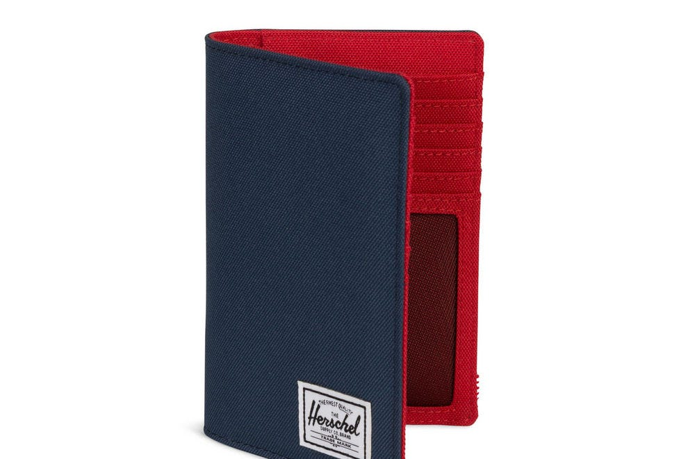 Herschel Supply Company Search Passport Holder has plenty of room for your essentials