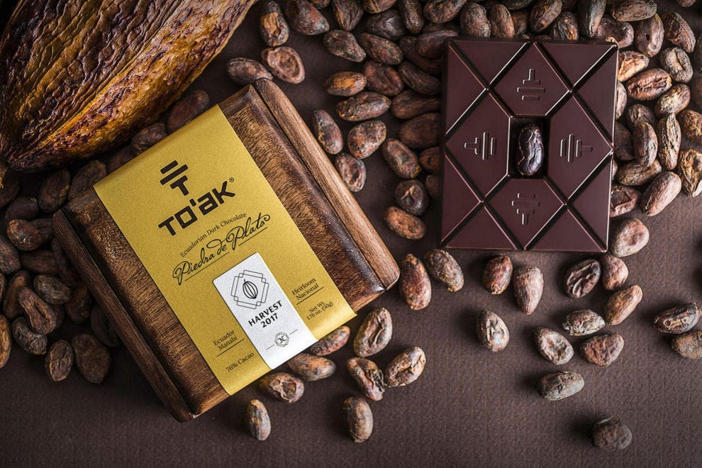 To'ak Chocolate is some of the finest chocolate in the world