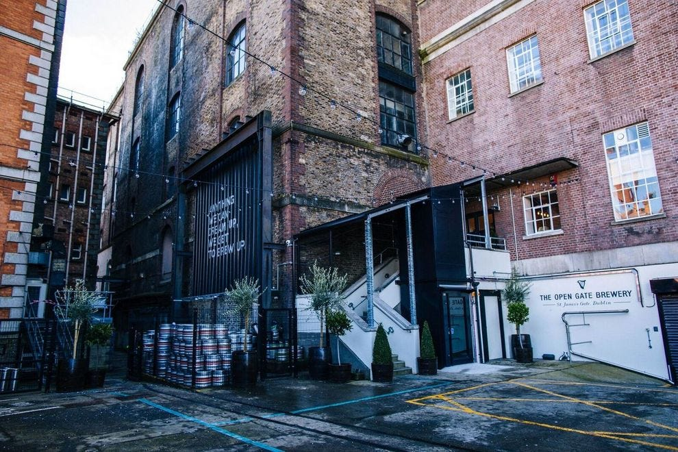 Inside the secret brewery Guinness kept locked up for a century