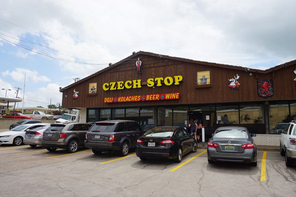 How a Texas gas station became America's most famous Czech restaurant