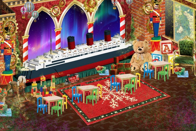 The Queen Mary Christmas