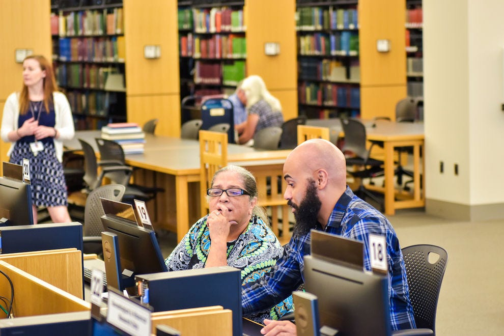 The Genealogy Center at Allen County Public Library offers free professional help with your search