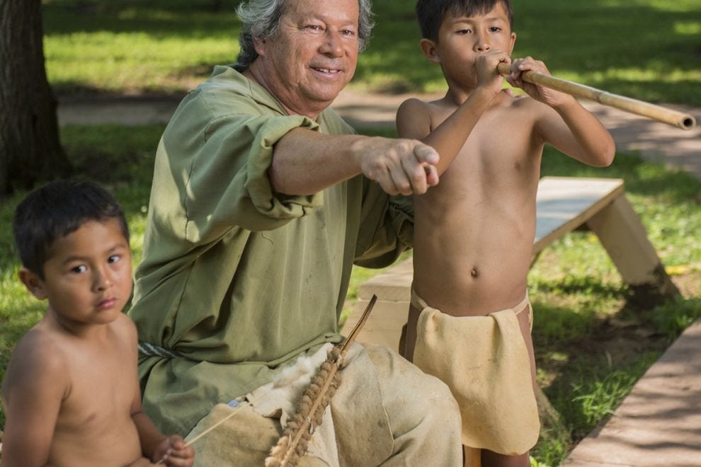 The Cherokee Heritage Center focuses on history, culture and arts