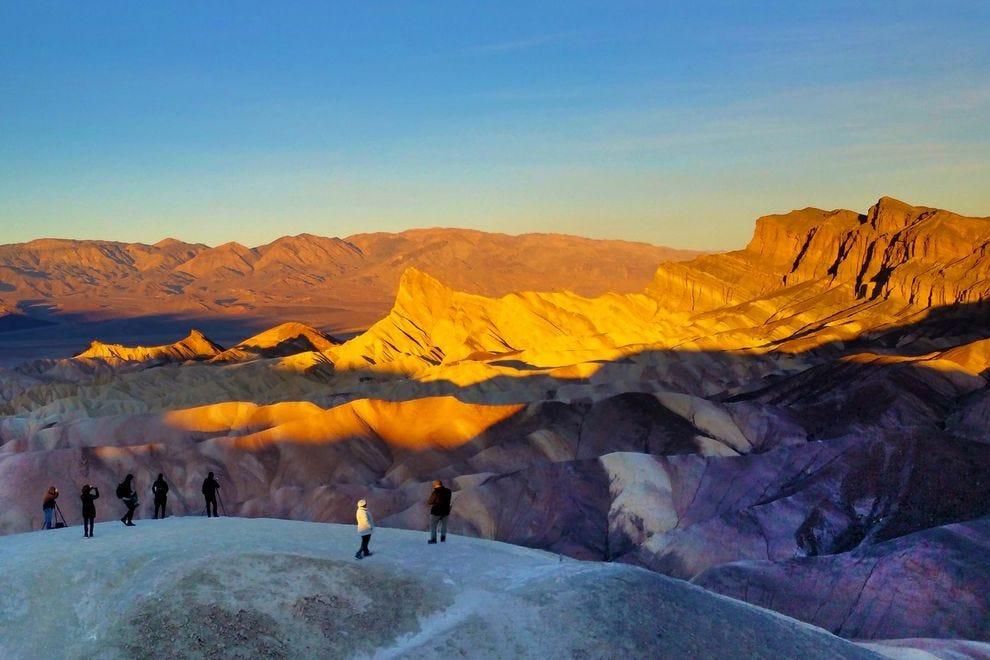 Find your winter oasis at Death Valley National Park