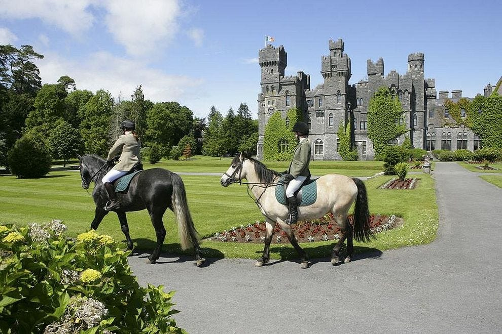 What to do when you're staying in an 800-year-old Irish castle