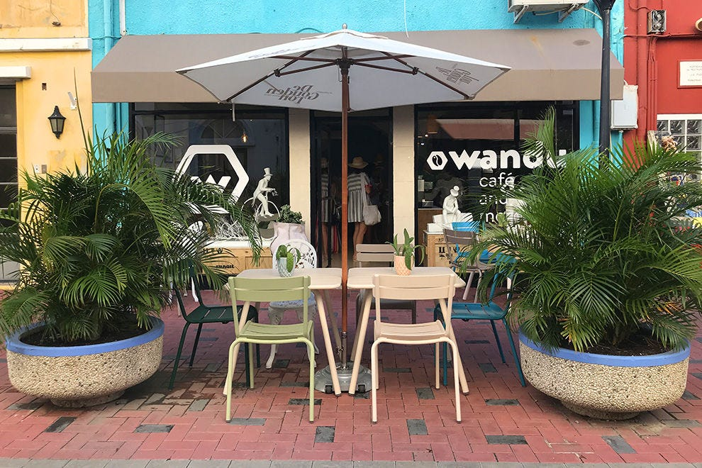 The best coffee on the island at Wandu Cafe
