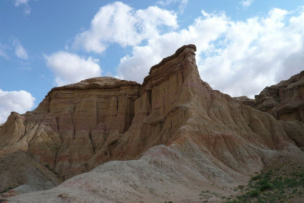 Bayanzag, the Flaming Cliffs