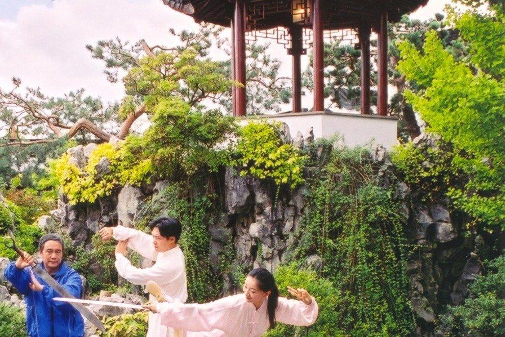 博士。孙中山中国古典园林