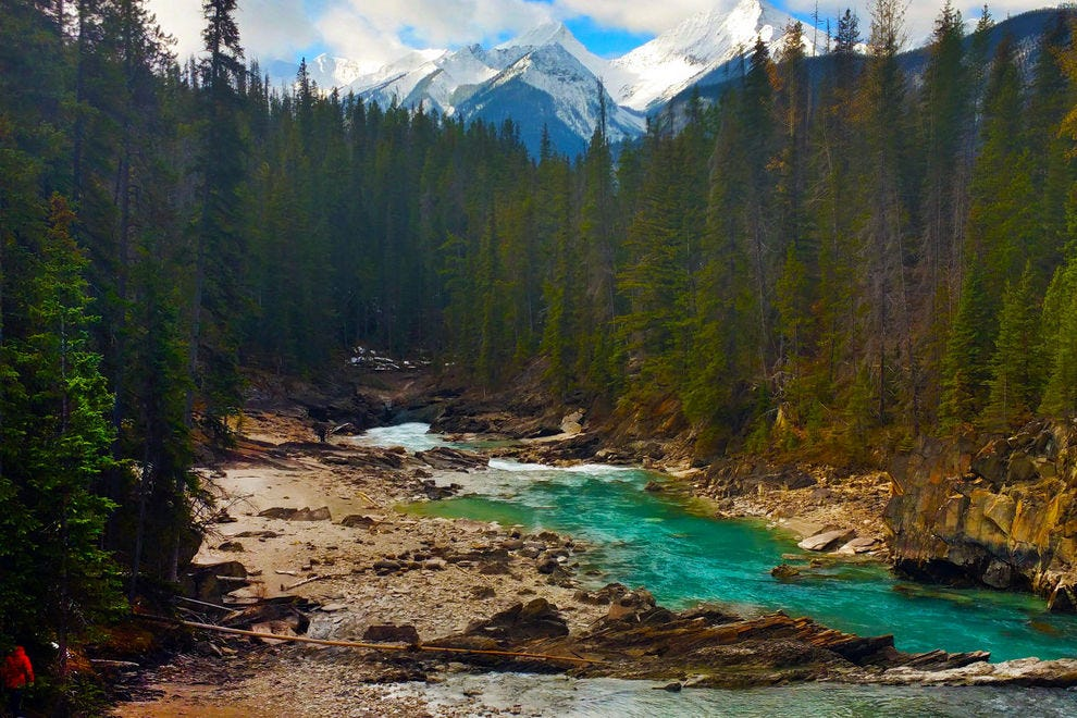 Yoho National Park in Canada