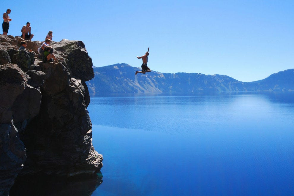 Take the leap at Crater Lake National Park