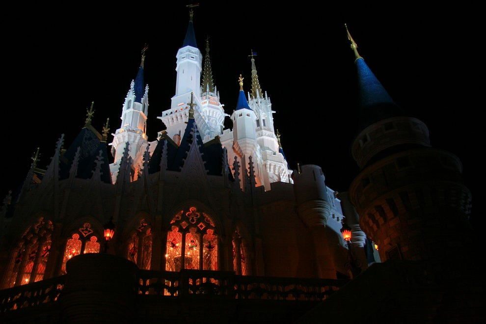 Dining at Cinderella's Castle is a must according to Puck