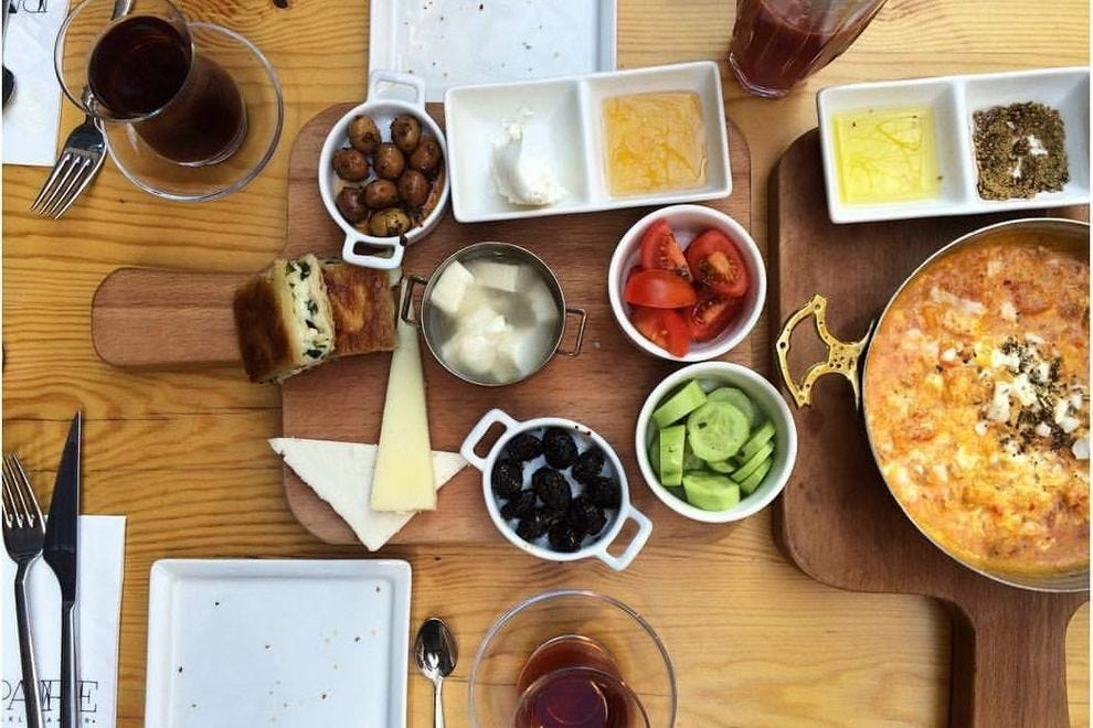 10 Of The Best Places To Have Turkish Breakfast In Istanbul