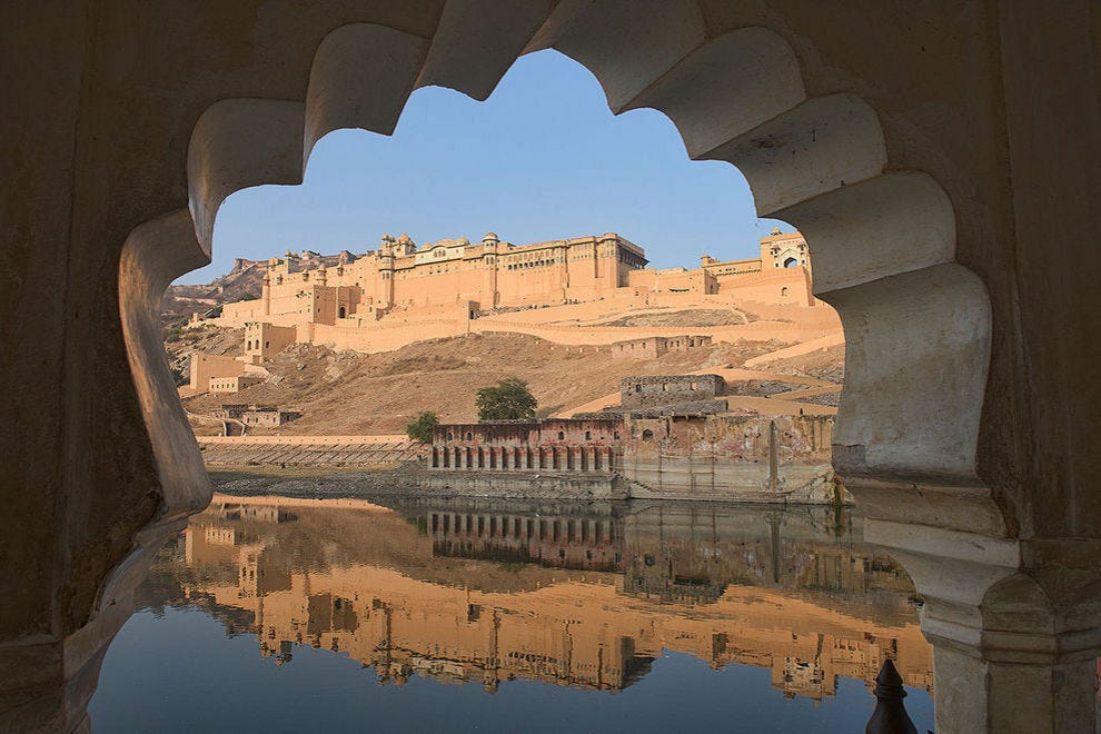 Colorful and stunning Rajasthan shines brightly in the desert