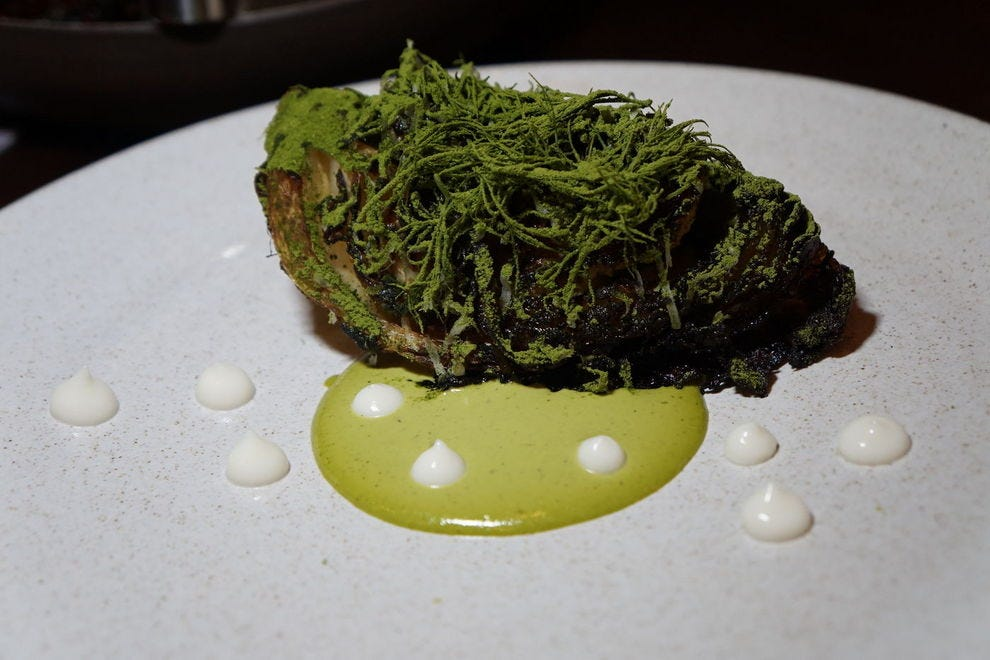 Senia's charred cabbage is a food experience