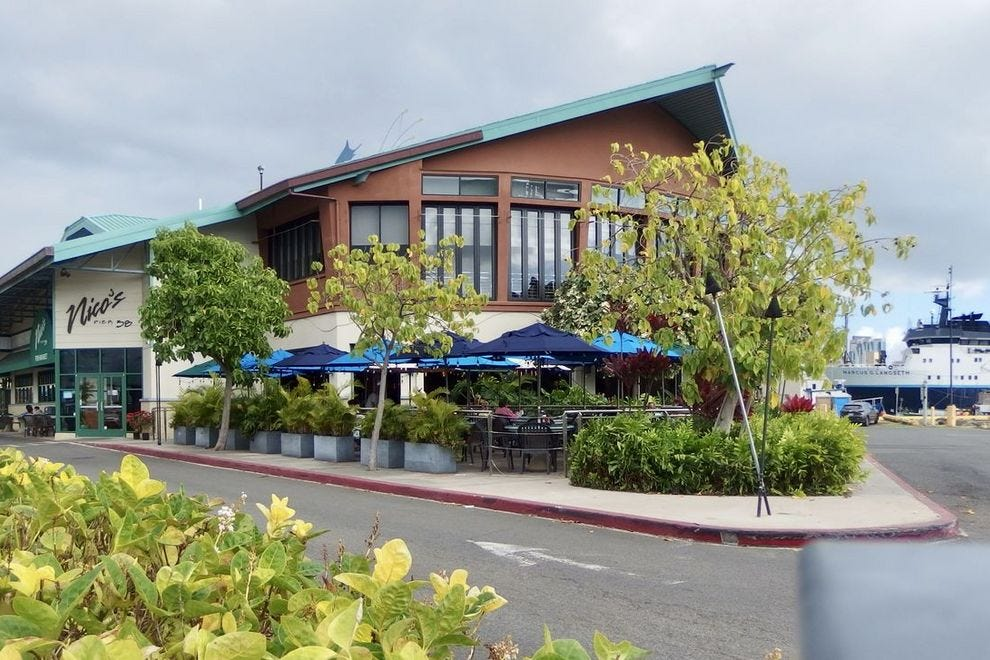 Nico's Pier 38 offers dockside dining