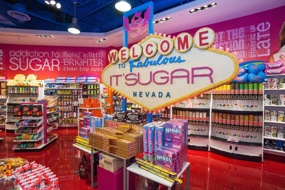 IT'SUGAR is a larger-than-life candy store for adults