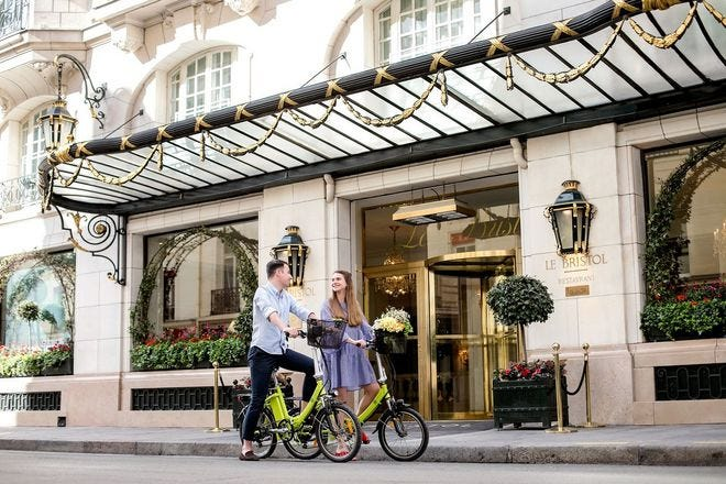 Romantic Hotels in Paris