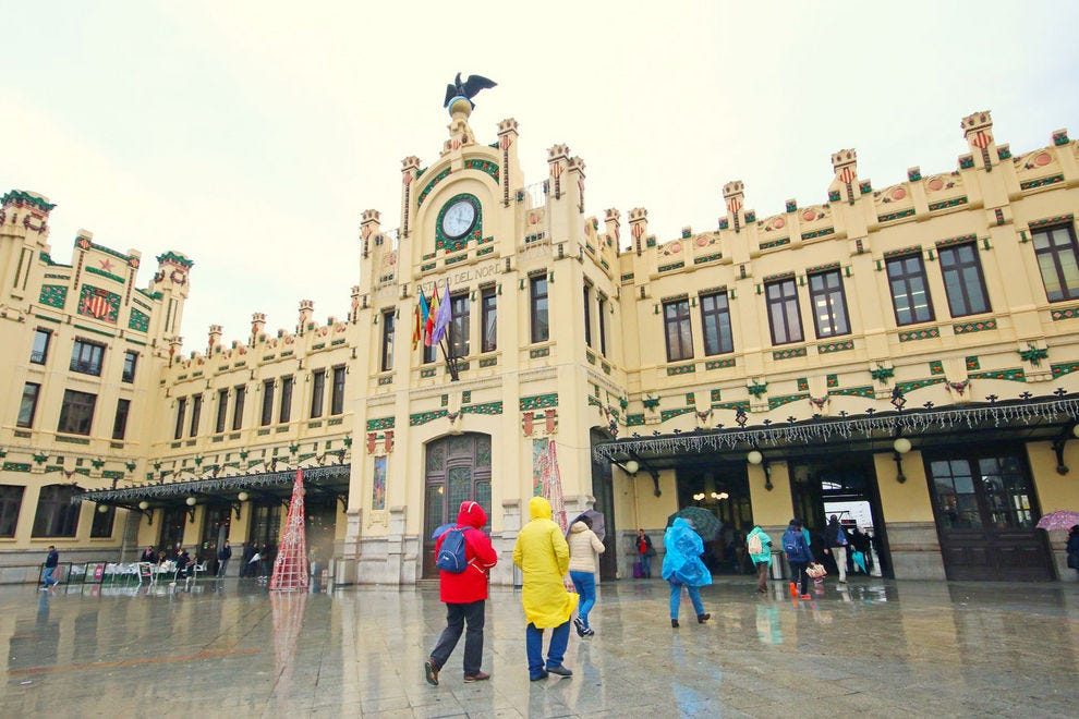 North Station in the city of Valencia