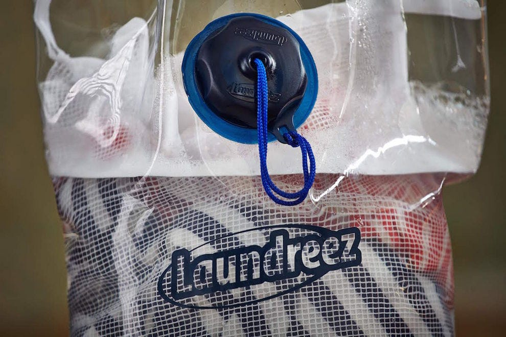 Pack your own portable clothes washer