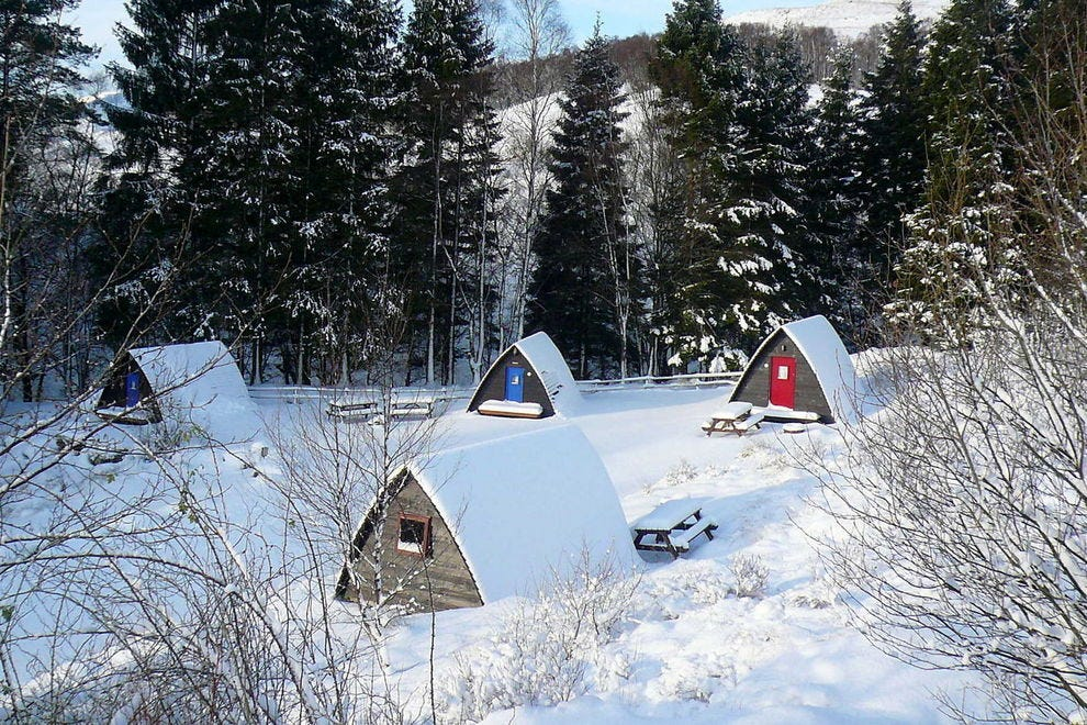 "Test your ""tiny house"" mettle with a stay in one of these charming wigwams"