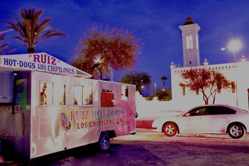 Ruiz hot dogs are part of the Tucson landscape