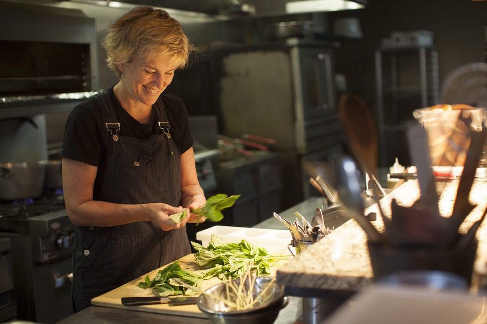 Chef Kathleen Blake of Rusty Spoon