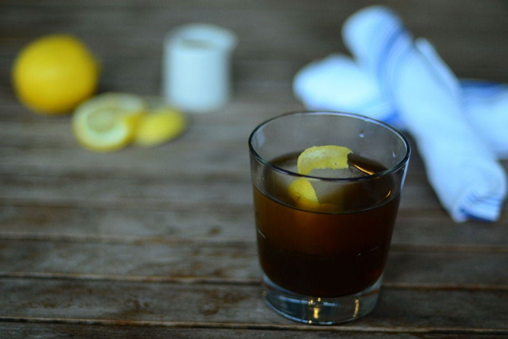 Honey and whiskey make the Irish Isle something of a reverse hot toddy
